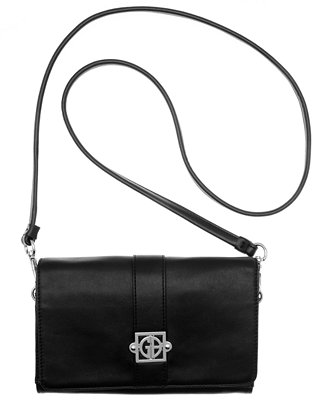 Giani Bernini Nappa Leather Flap Crossbody
