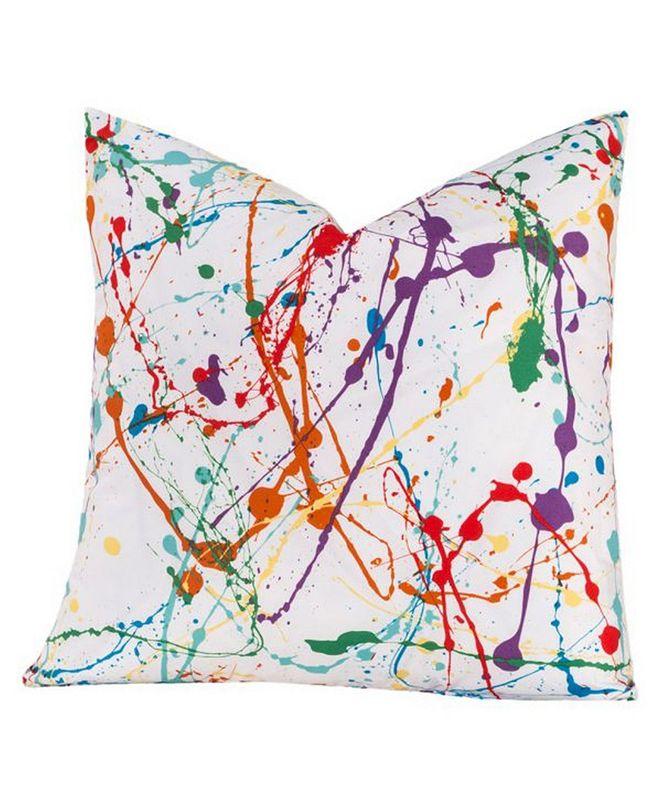 "Crayola Splat 16"" Designer Throw Pillow"