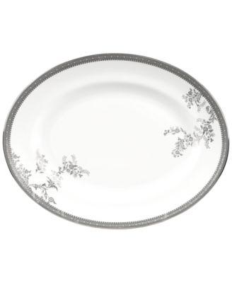 Vera Wang Wedgwood Dinnerware, Lace Oval Platter