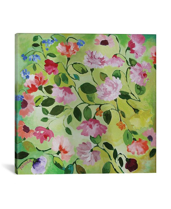 """iCanvas """"Magnolias"""" By Kim Parker Gallery-Wrapped Canvas Print - 26"""" x 26"""" x 0.75"""""""