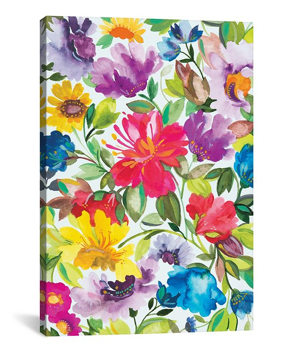 """iCanvas """"Hibiscus"""" By Kim Parker Gallery-Wrapped Canvas Print - 18"""" x 12"""" x 0.75"""""""