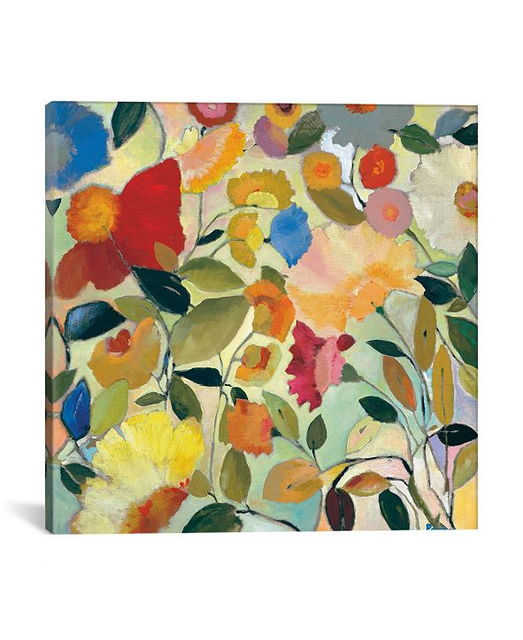 "iCanvas ""August Garden"" By Kim Parker Gallery-Wrapped Canvas Print - 37"" x 37"" x 0.75"""