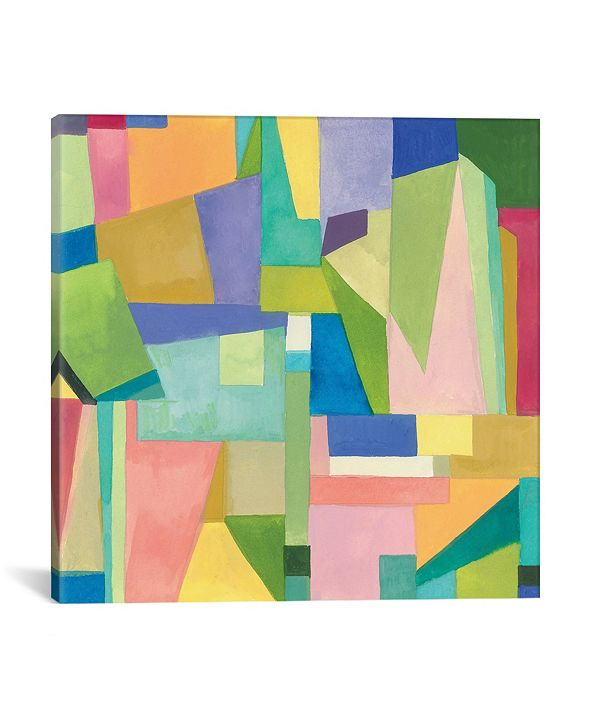 """iCanvas """"Dublin I"""" By Kim Parker Gallery-Wrapped Canvas Print - 37"""" x 37"""" x 0.75"""""""
