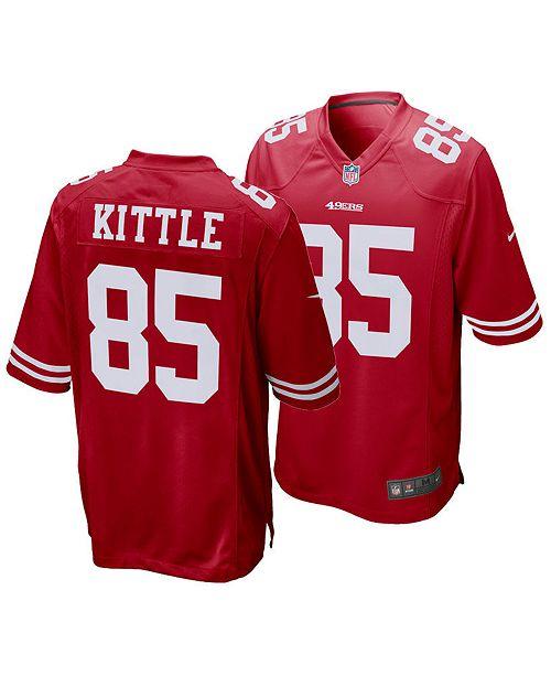 Nike Men S George Kittle San Francisco 49ers Game Jersey Reviews Sports Fan Shop By Lids Men Macy S