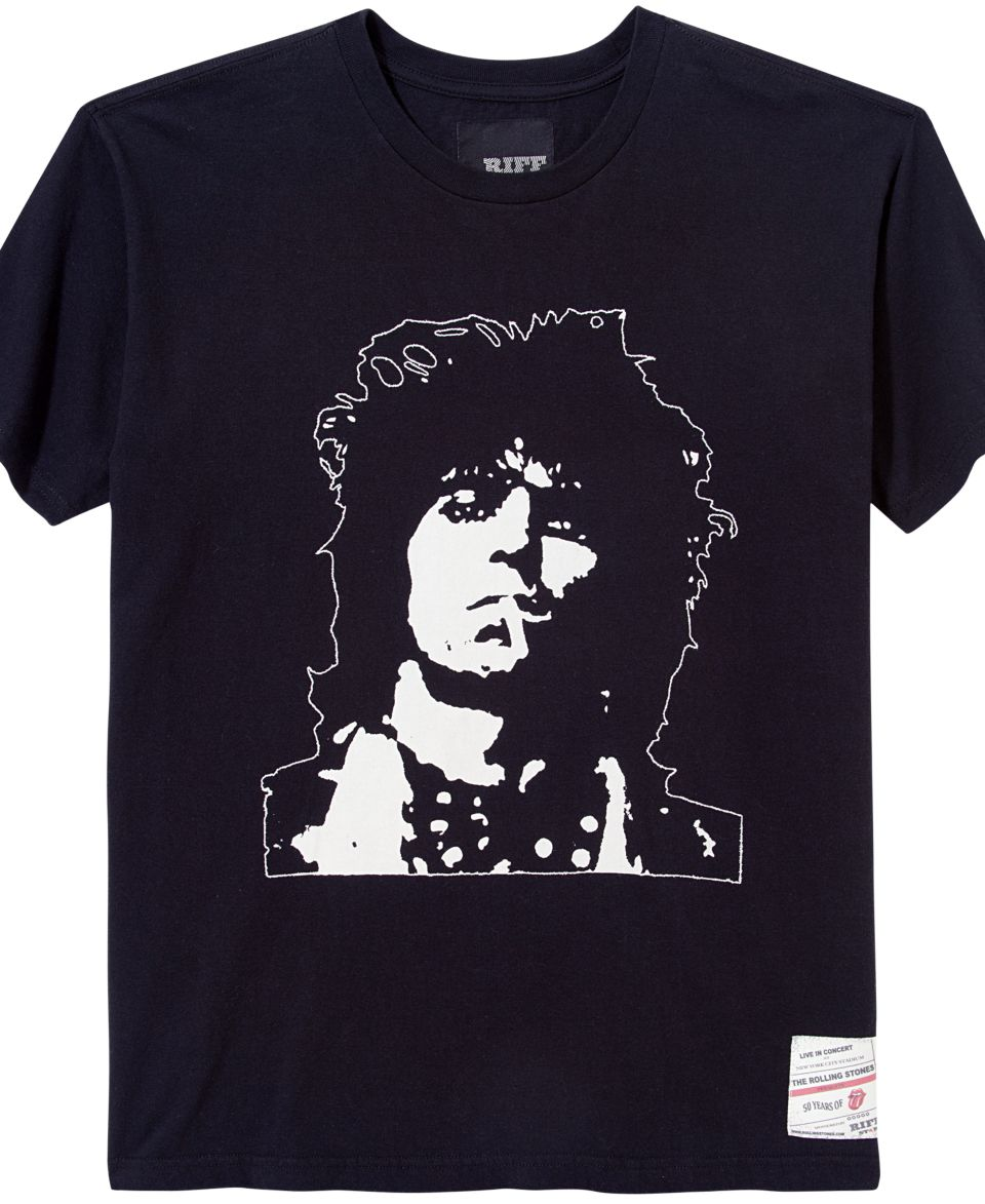 Rolling Stones Shirt, Keith Cut And Sew Short Sleeve Graphic T Shirt