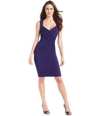 Calvin Klein Dress Sleeveless Body Con Cocktail Dress