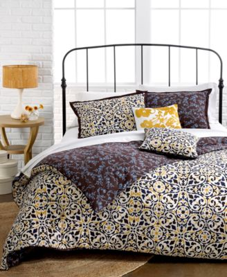 Closeout Sunset And Vines Sahara 5 Piece Comforter And