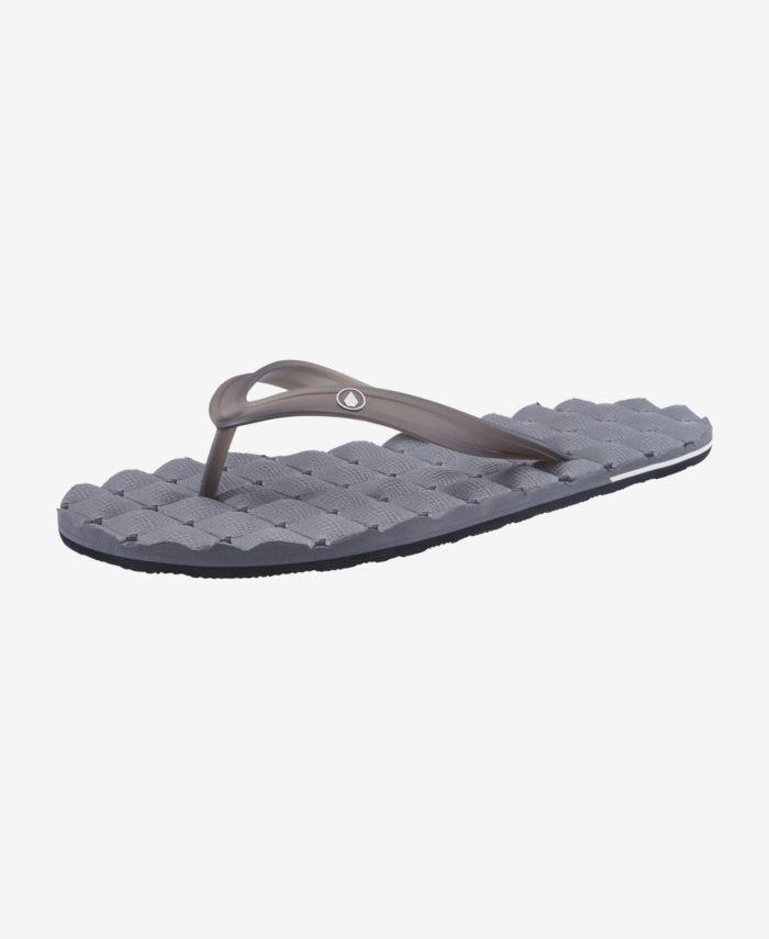 Volcom Men's Recliner Rubberr 2 Sandal & Reviews - All Men's Shoes - Men - Macy's