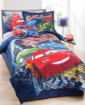 Cars Streak 2 Piece Decorative Pillow Pack Bedding
