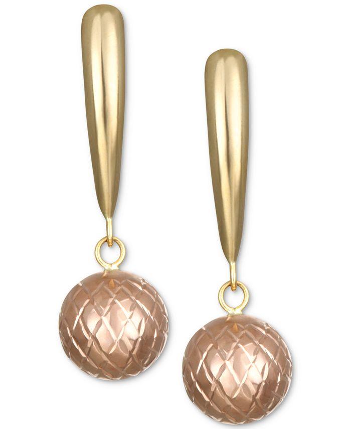 Macy's - Ball Drop Earrings