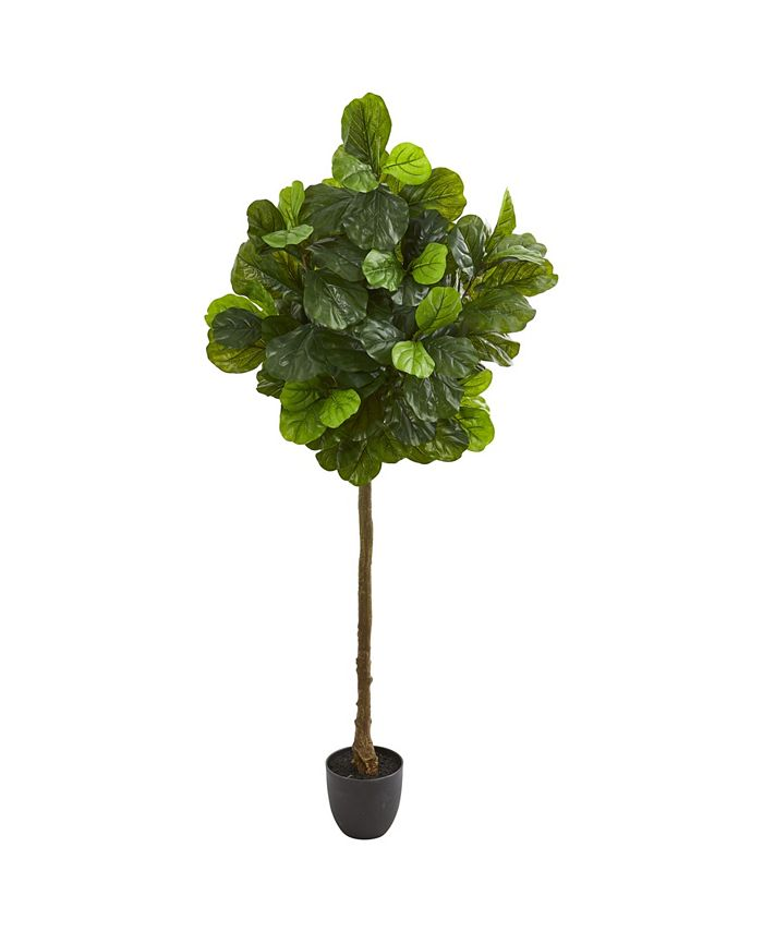 Nearly Natural - 6' Fiddle Leaf Artificial Tree (Real Touch)