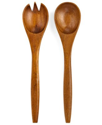 The Cellar Set of 2 Acacia Wood Servers