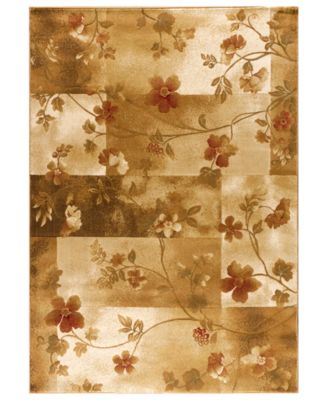 "MANUFACTURER'S CLOSEOUT! Kenneth Mink Area Rug, Northport MUS-101 Ivory 5'3"" x 7'7"""