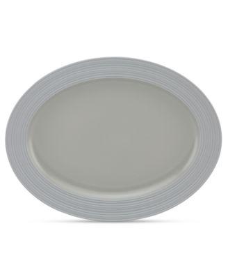 kate spade new york Dinnerware, Fair Harbor Oyster Large Oval Platter