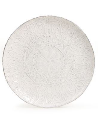 Maison Versailles Blanc Colette Salad Plate