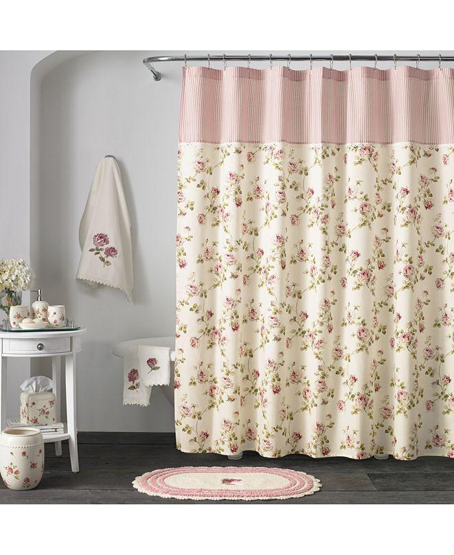 J Queen New York Piper & Wright Rosalie Shower Curtain