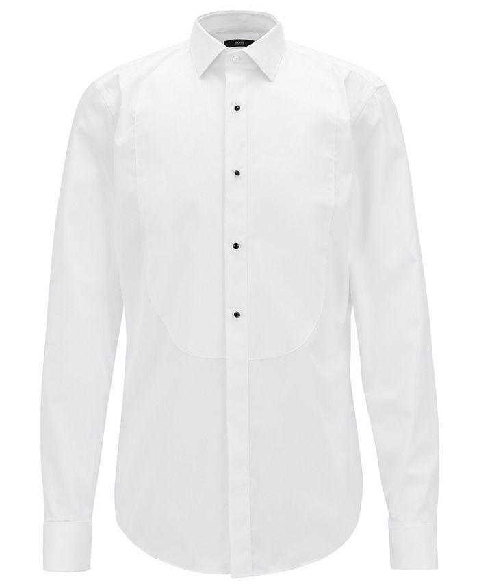 Hugo Boss - Men's Jant Formal Slim-Fit Cotton Shirt