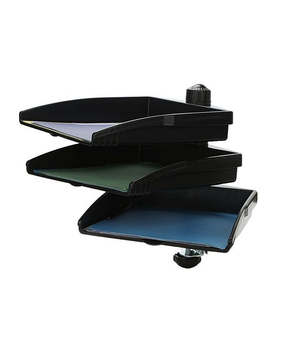 Mind Reader Platform Swivel 360 Degree Documents Tray