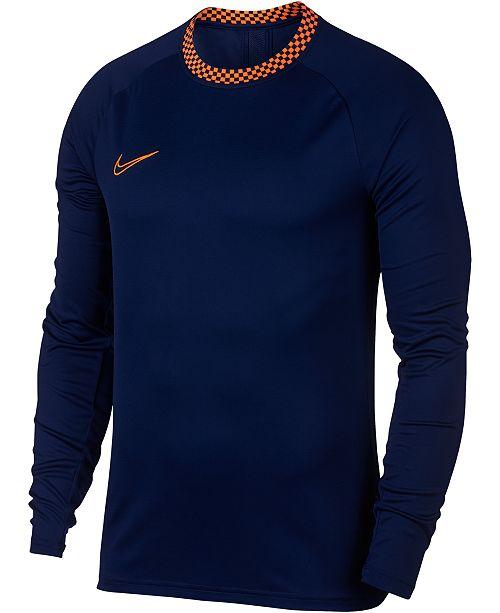 Nike Men's Academy Dri-FIT Soccer Shirt & Reviews - Casual ...