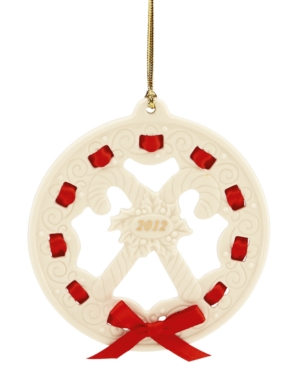 Lenox Christmas Ornament, 2012 Christmas Wrappings Candy Canes