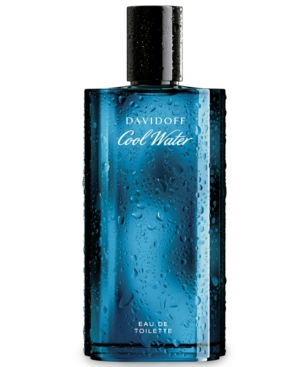 Davidoff Cool Water Eau de Toilette Spray for Him, 2.5 oz.