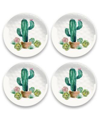 """Desert Garden Salad Plate, 8.5"""", Melamine, Set of 6"""