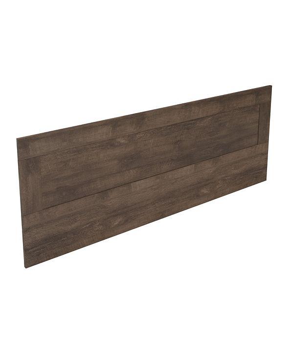 Amazonia Mid-Century Queen Wood Panel Headboard