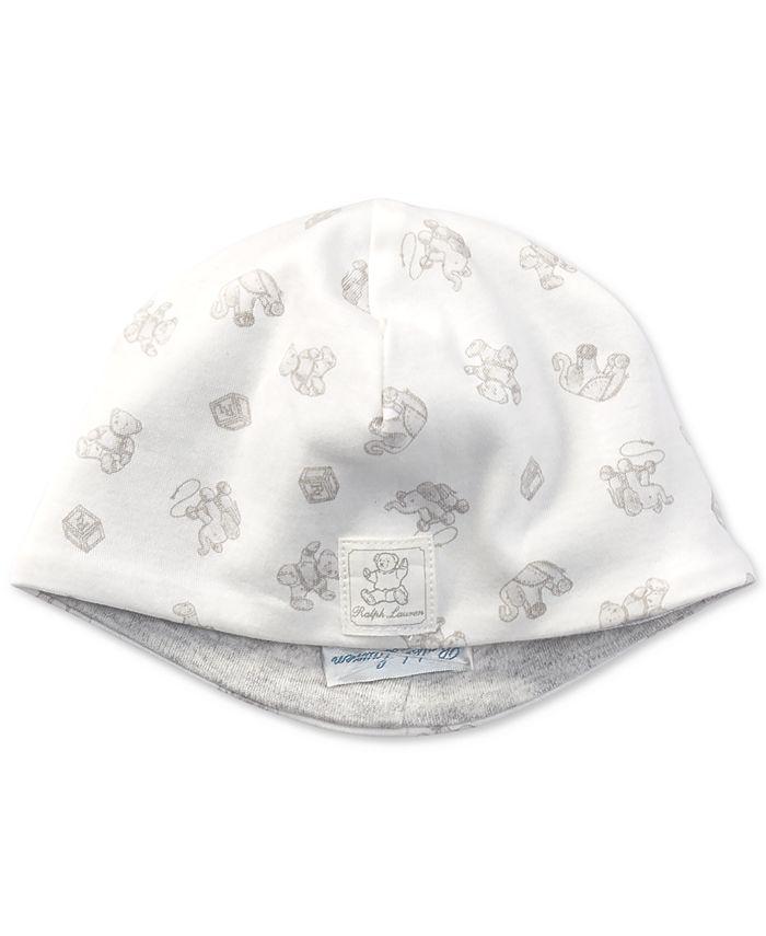 Polo Ralph Lauren - Cotton Interlock Beanie, Baby Boys
