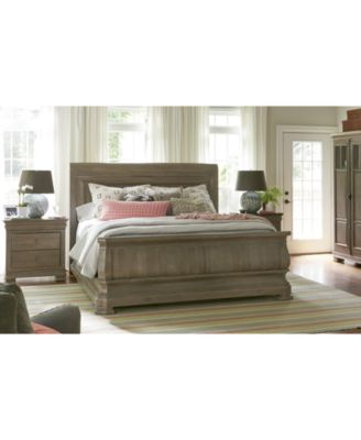 Reprise Driftwood Bedroom Furniture, 3-Pc. Set (King Bed, Nightstand & Chest)