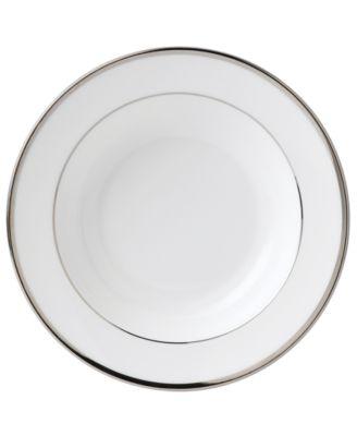 Wedgwood Sterling Rim Soup Bowl