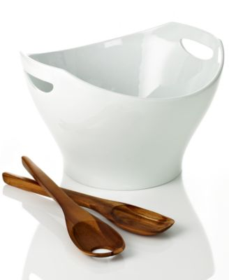 Dansk Dinnerware, Classic Fjord Large 3 Piece Salad Set