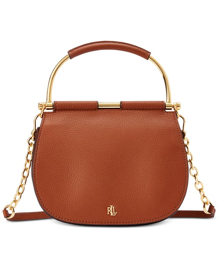 Lauren Ralph Lauren - Mason Pebbled Leather Satchel