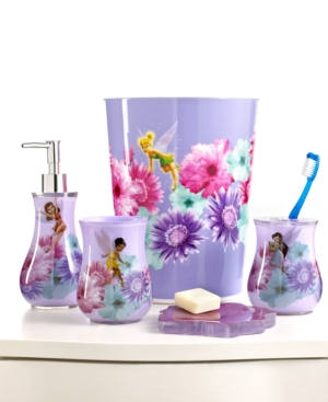 Disney Bath Accessories, Fairies Rosey Collection
