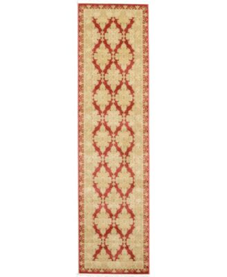 "Orwyn Orw5 Red 2' 7"" x 10' Runner Area Rug"