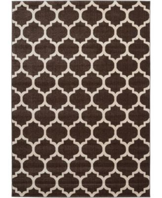Arbor Arb1 Brown 7' x 10' Area Rug