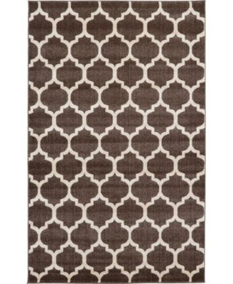 Arbor Arb1 Brown 5' x 8' Area Rug