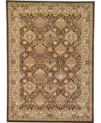 Passage Psg7 Brown 7' x 10' Area Rug