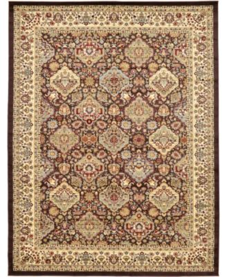 Passage Psg7 Brown 9' x 12' Area Rug