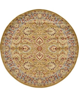 Passage Psg9 Dark Yellow 8' x 8' Round Area Rug