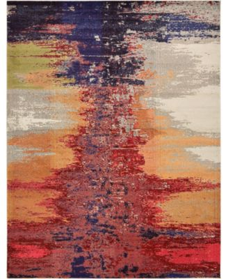 Newwolf New2 Pink 9' x 12' Area Rug