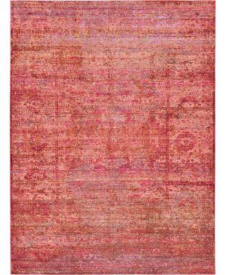 Malin Mal8 Red 7' x 10' Area Rug