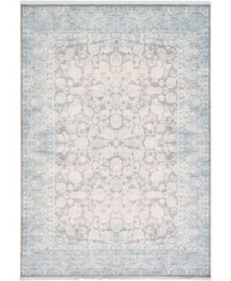 """Norston Nor3 Blue 8' x 11' 4"""" Area Rug"""
