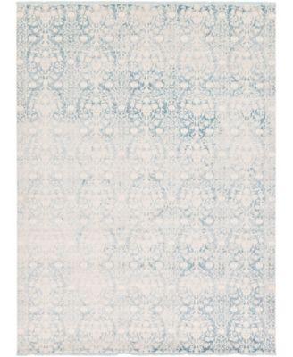 Norston Nor5 Light Blue 10' x 13' Area Rug