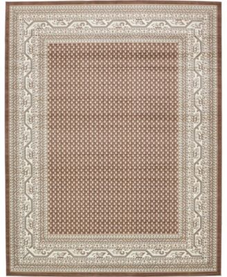Axbridge Axb1 Brown 10' x 13' Area Rug