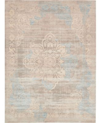 Caan Can4 Taupe 10' x 13' Area Rug