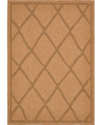 """Pashio Pas7 Light Brown 8' x 11' 4"""" Area Rug"""