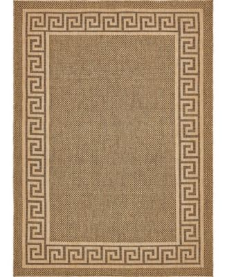 "Pashio Pas6 Brown 8' x 11' 4"" Area Rug"
