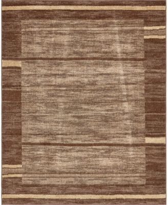 Jasia Jas11 Brown 8' x 10' Area Rug