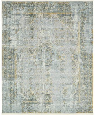 "Kenna Ken1 Gray 8' 4"" x 10' Area Rug"