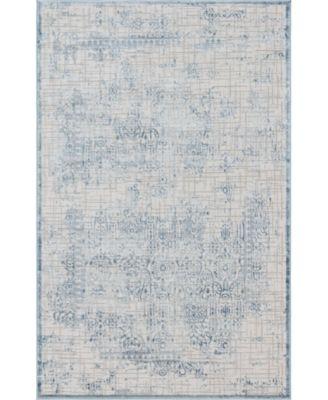 Aitana Ait2 Blue 5' x 8' Area Rug
